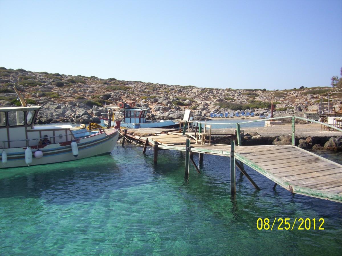 """Zdjęcia: Dia, Kreta, """"Port"""" na wyspie Dia, GRECJA"""