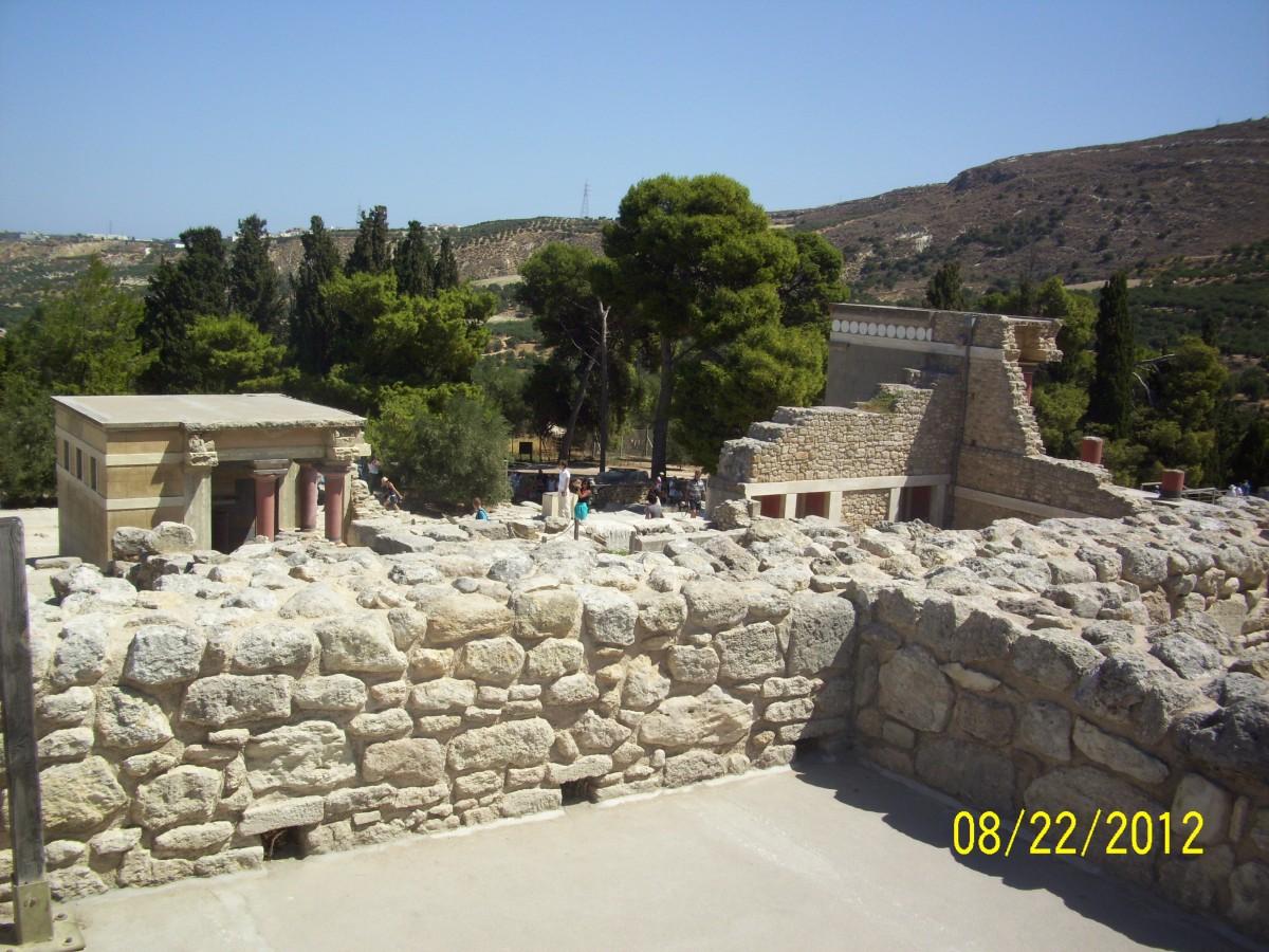 Zdjęcia: Knossos, Kreta, Knossos, GRECJA