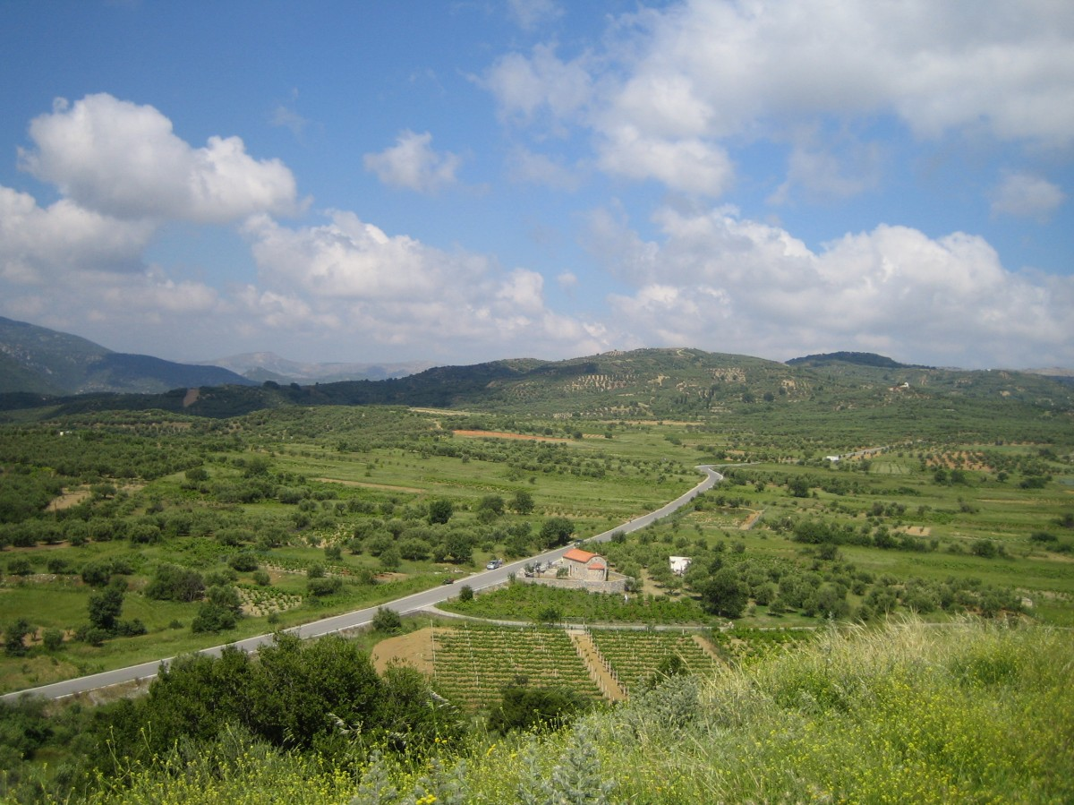 Zdjęcia: Grota Zeusa widok, środkowy, Kreta, GRECJA