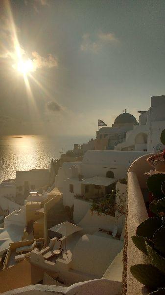 Zdjęcia: Thira, Grecja, Zachód słońca Oia, GRECJA