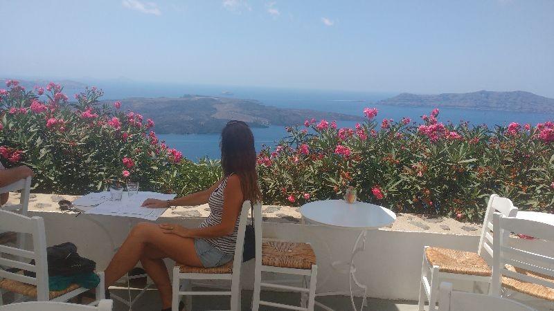 Zdjęcia: Thira, Santorini, Widok na Calderę, GRECJA