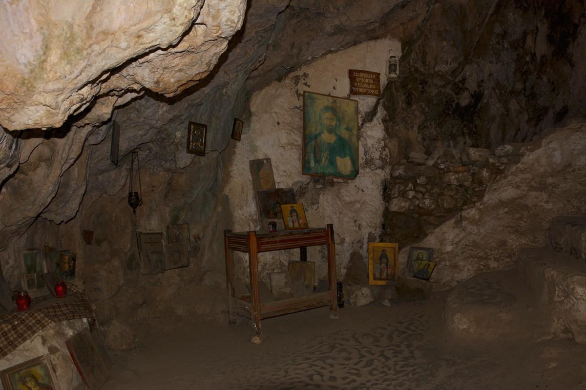 Zdjęcia: w pobliżu miejscowości Topolia, Kreta, Agia Sofia cave (Wisdom of God), GRECJA