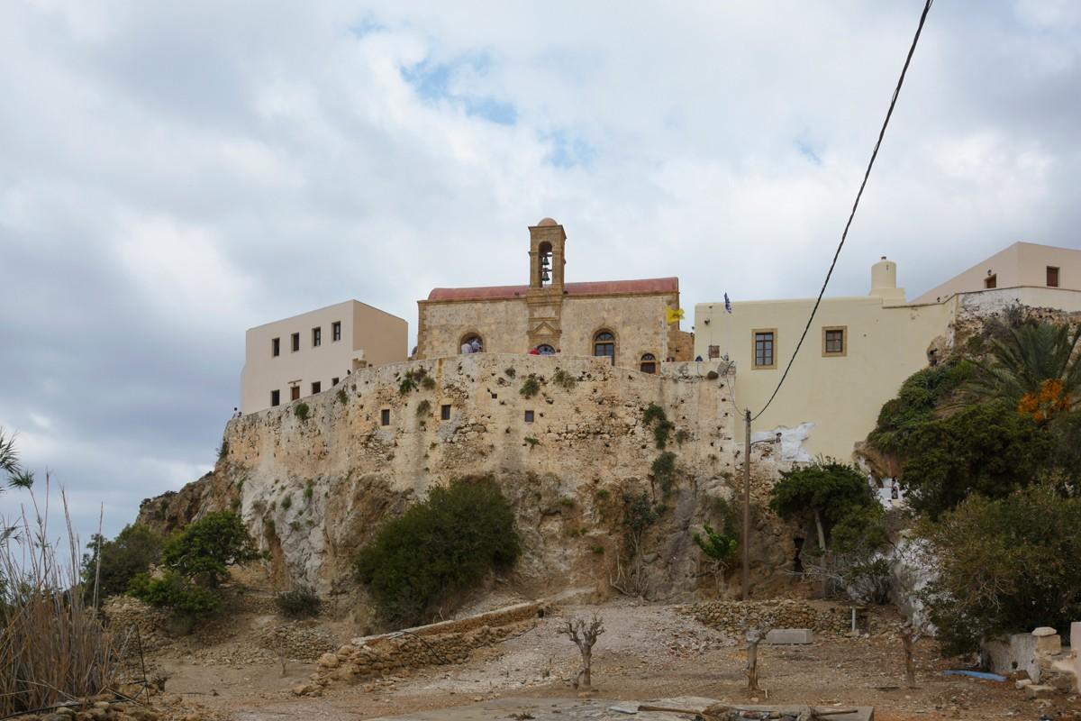 Zdjęcia: Innachori, Kreta, klasztor Chrysoskalitissa , GRECJA