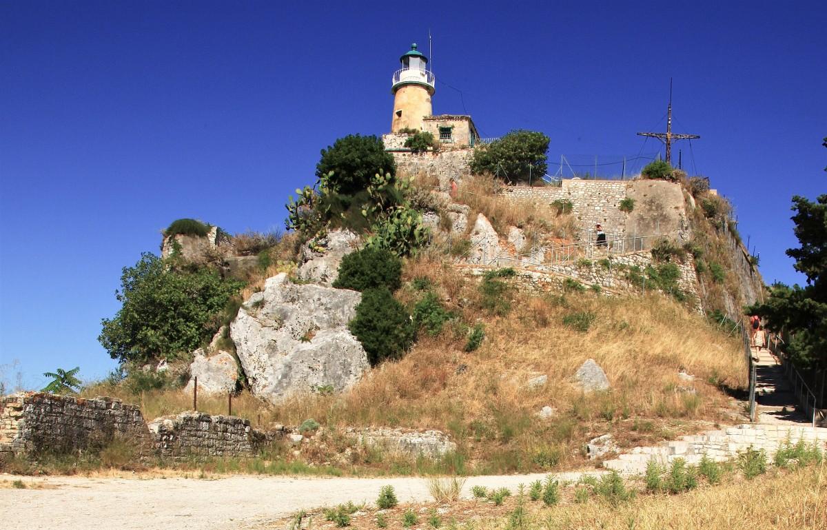 Zdjęcia: Stara Forteca,  Korfu, W drodze do latarni morskiej, GRECJA