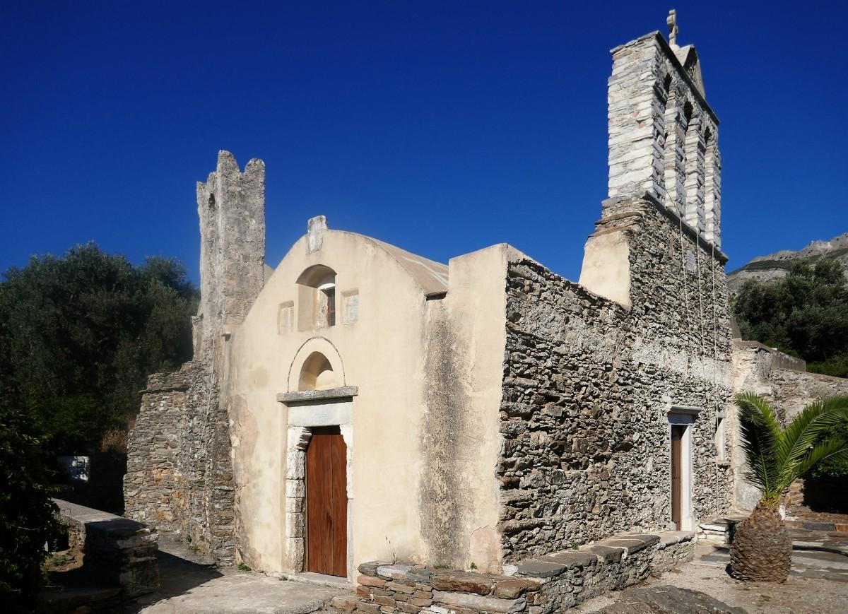 Zdjęcia: Halki, Naksos, Cyklady, Urok greckich kościołów - Panagia Drossiani, GRECJA