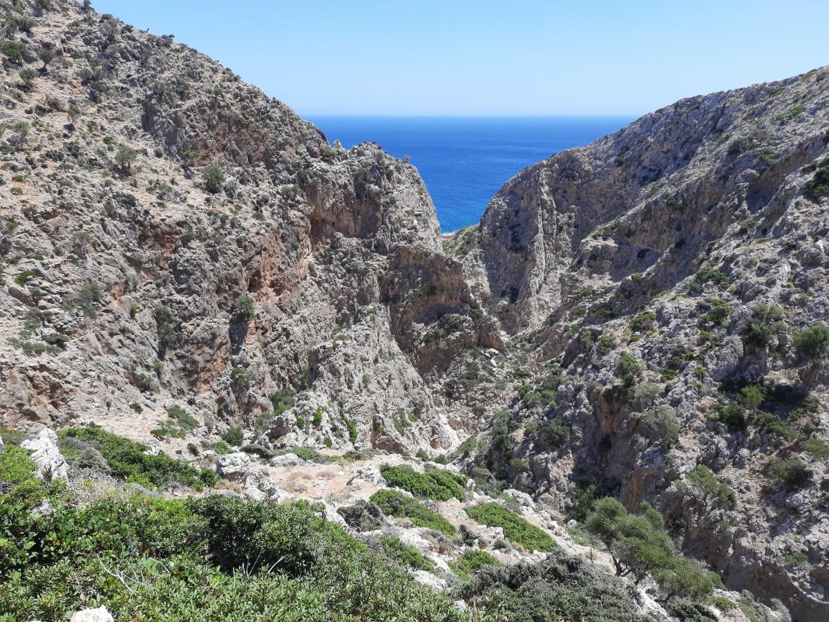 Zdjęcia: Półwysep Akrotiri , Kreta, Wąwóz Avlaki , GRECJA