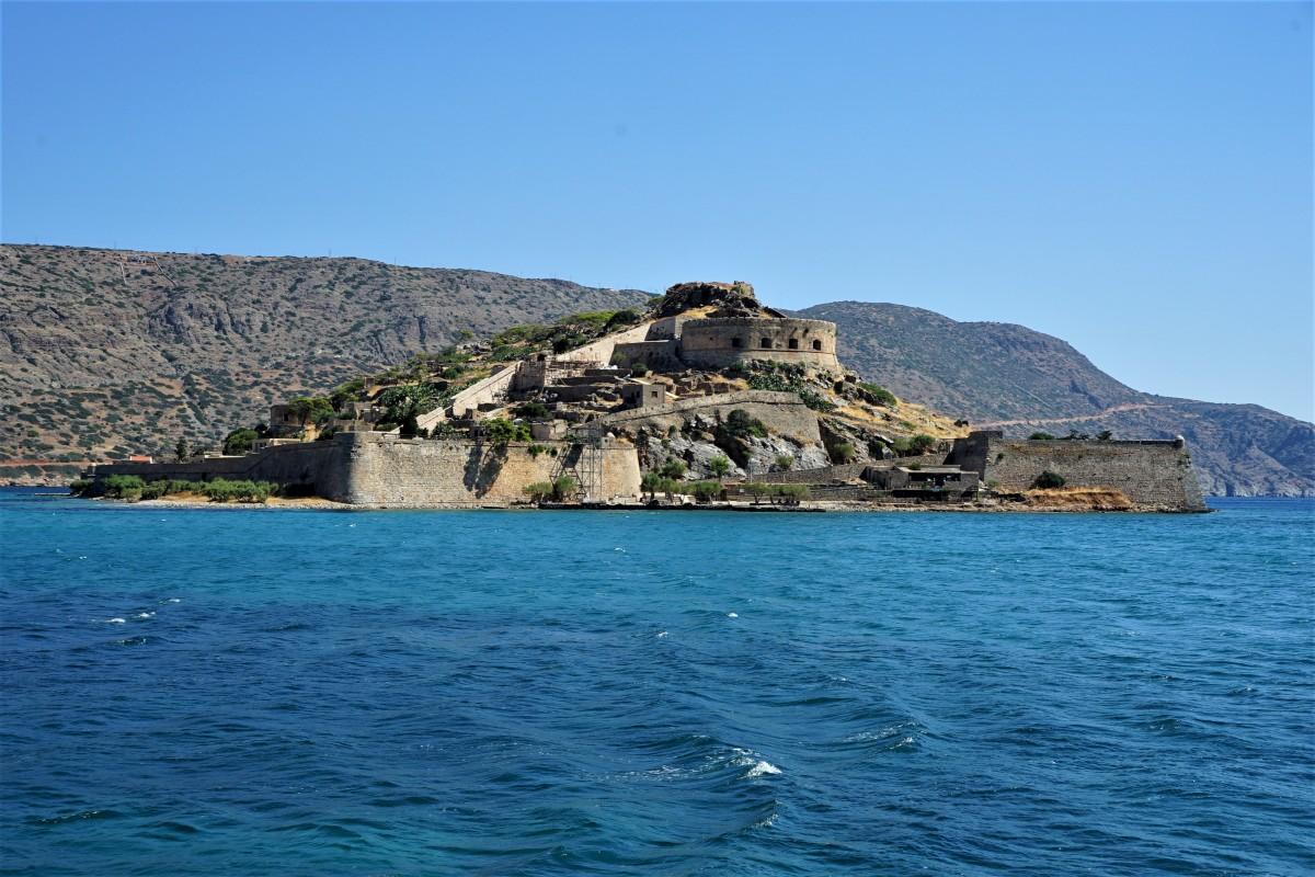 Zdjęcia: Gmina Ajos Nikolaos, Kreta, Spinalonga, wyspa trędowatych, GRECJA