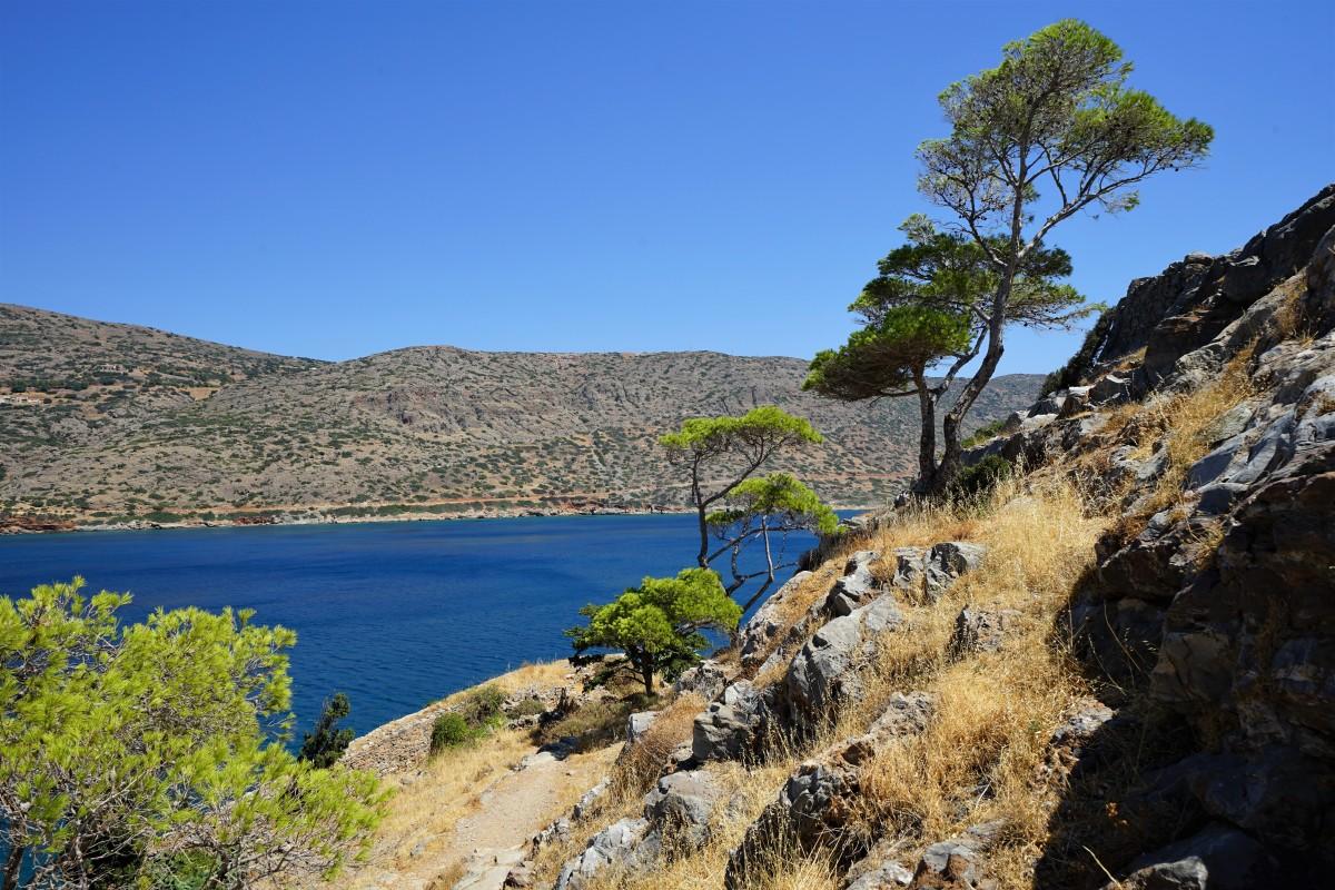 Zdjęcia: Spinalonga, wyspa trędowatych, Kreta, Brzeg, GRECJA