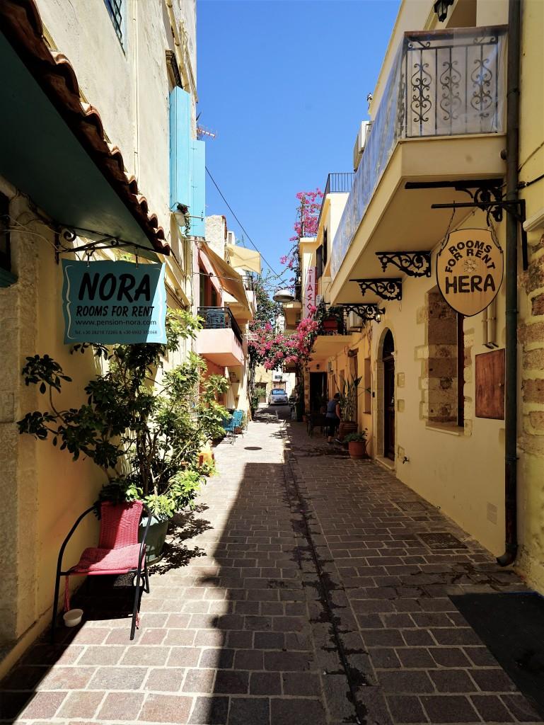 Zdjęcia: Chania, Kreta, Uliczka, GRECJA