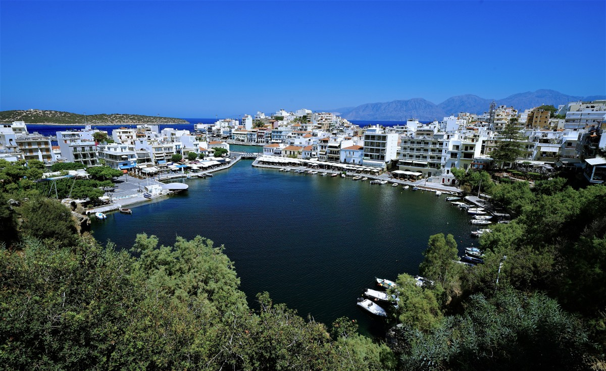 Zdjęcia: Agios Nikolaos, Kreta, Jezioro Voulismeni, GRECJA