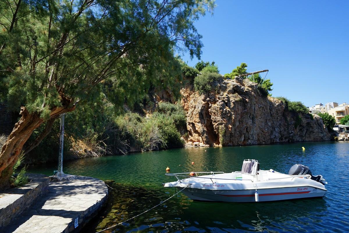 Zdjęcia: Agios Nikolaos, Kreta, Przystań, GRECJA