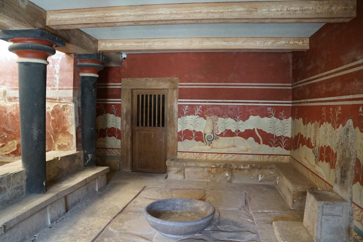 Zdjęcia: Heraklion, Kreta, Pałac Knossos, ruiny, GRECJA