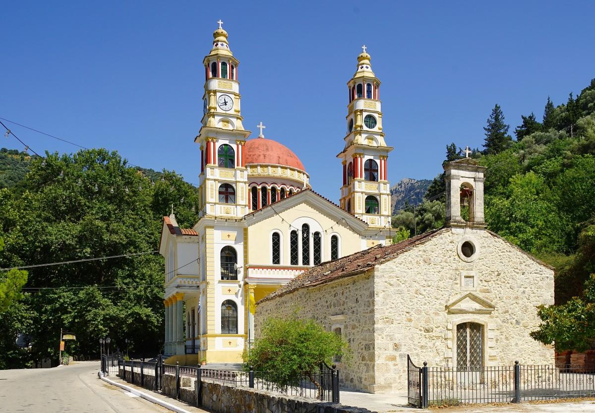 Zdjęcia: Meskla, Kreta, Kościół Chrystusa Zbawiciela, GRECJA