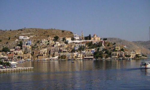 Zdjecie GRECJA / Rodos / wyspa Symi / Rodos
