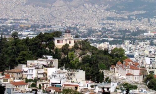 GRECJA / Ateny / Ateny / Widok z Akropolu