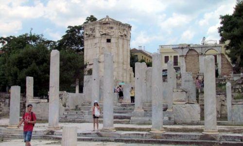 GRECJA / Ateny / Ateny / Wieża wiatrów