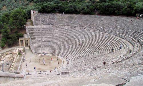 GRECJA / Peloponez / Epidauros / Amfiteatr