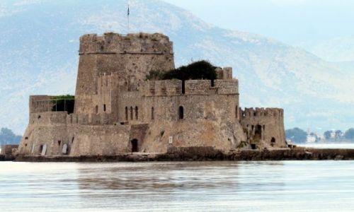 Zdjecie GRECJA / Peloponez / Nafplion / Twierdza