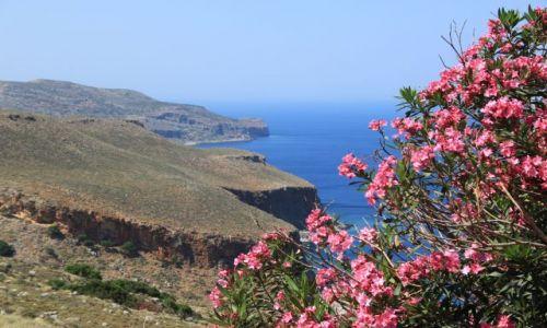 Zdjecie GRECJA / Kreta / Balos / w drodze do Bal