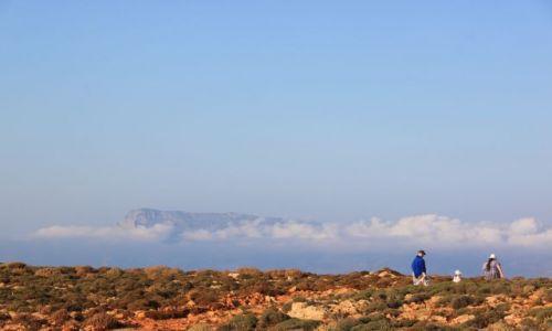 Zdjęcie GRECJA / Kreta / Balos / spacer w chmuraxh