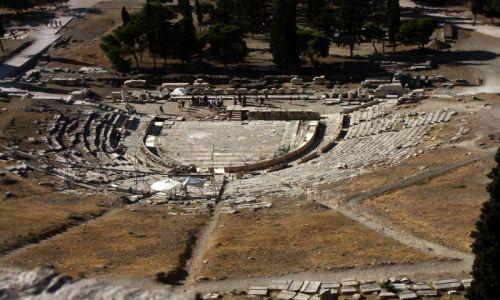 Zdjecie GRECJA / Grecja / Ateny / Pierwszy starożytny teatr w Atenach