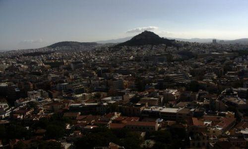 Zdjecie GRECJA / Ateny / Z góry Ateny tez sa piekne / Widok na Ateny