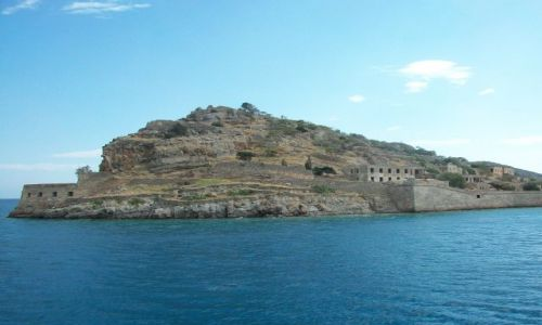 GRECJA / Kreta / Spinalonga / Spinalonga - wyspa trędowatych