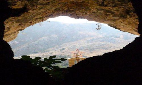 Zdjecie GRECJA / Kreta / Góry Białe / Jaskinia św. Zo
