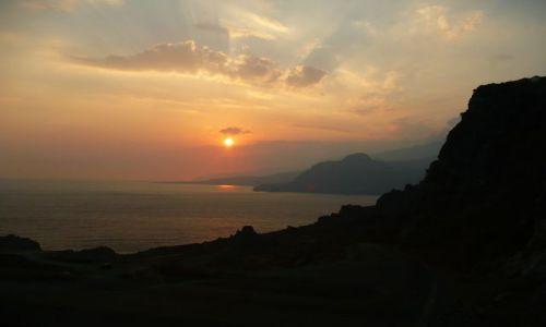Zdjecie GRECJA / Kreta / okolice Plakias / Zachód słońca