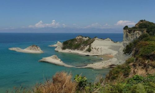Zdjecie GRECJA / Korfu / Peroulades / Cape Drastis