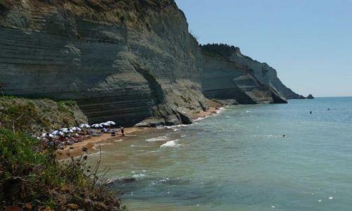 Zdjecie GRECJA / Korfu / Peroulades / Plaża Logas