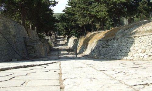 Zdjęcie GRECJA / Kreta / Knossos / Tą drogą doszliśmy do Europy