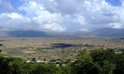 Zdjecie GRECJA / Kreta / Wejścia do jaskini Dikte / Płaskowyż Lasit