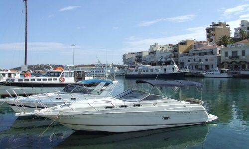 Zdjecie GRECJA / Kreta / Centrum miasta Agios Nikolaos / Agios Nikolaos
