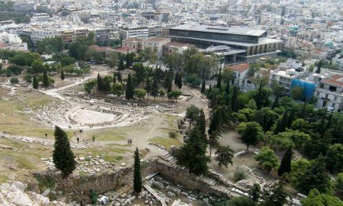 Zdjecie GRECJA / - / Ateny / Widok z Akropolu