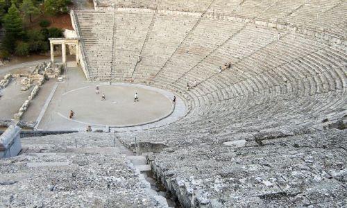Zdjęcie GRECJA / Peloponez / Epidauros / Doskonała akustyka