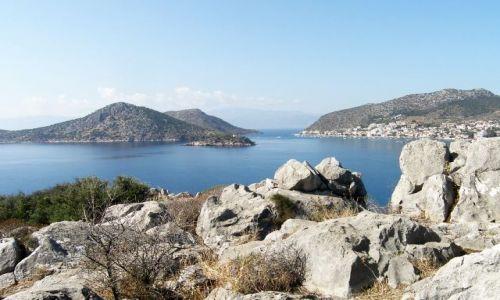 Zdjęcie GRECJA / Peloponez / Asine / Widok na zatokę