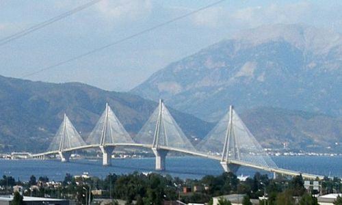 Zdjęcie GRECJA / Peloponez / Rion / Most Rion – Antirion