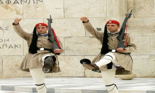 Zdjecie GRECJA / - / Ateny / Żołnierze