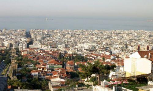 Zdjęcie GRECJA / - / Saloniki / Widok z Twierdzy
