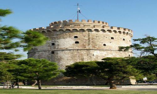 Zdjęcie GRECJA / - / Saloniki / Biała Wieża