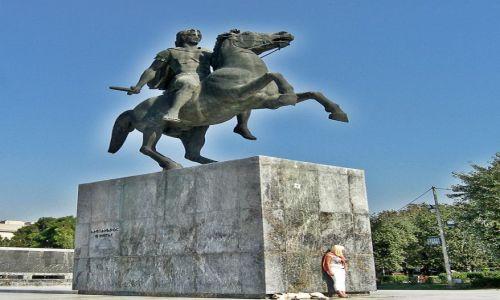 Zdjęcie GRECJA / - / Saloniki / Aleksander Wielki
