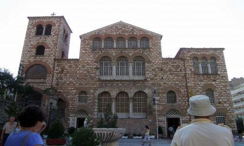 Zdjecie GRECJA / - / Saloniki / Kościół Św. Demetriusza (Dimitriosa)