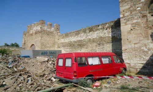 Zdjęcie GRECJA / Macedonia / Saloniki / Przestroga dla źle parkujących