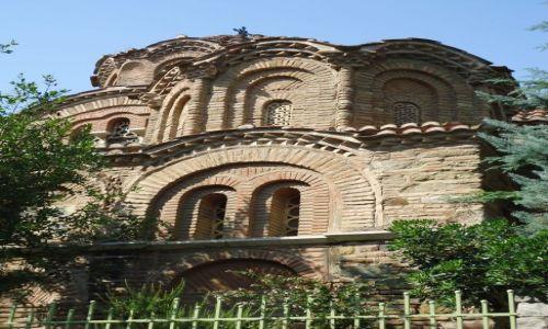 Zdjęcie GRECJA / Macedonia / Saloniki / Bizantyńskie kopuły