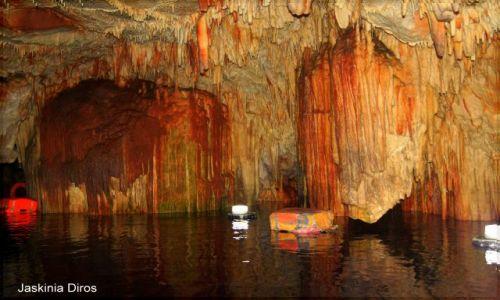 Zdjecie GRECJA / Peloponez / Jaskinie Diros / Jaskinie Diros