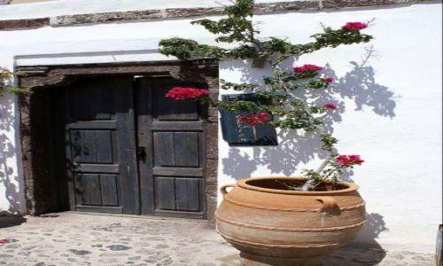 Zdjęcie GRECJA / Santorini / Oia / Drzwi
