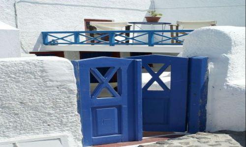 Zdjecie GRECJA / Santorini / Oia / Też drzwi