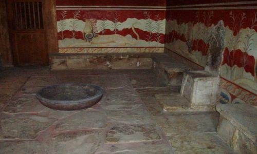 GRECJA / Srodkowa Kreta / Palac w Knossos / Kreta