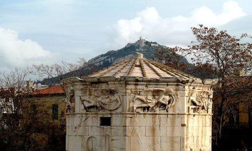 Zdjecie GRECJA / Attyka / Ateny/Akropol / Wierza wiatrów